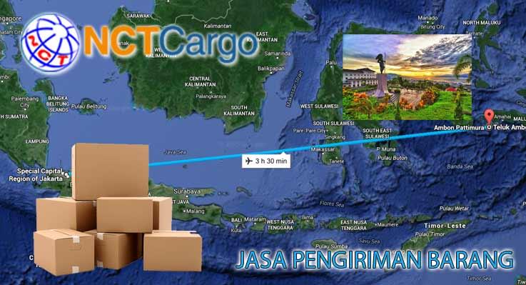 Jasa Pengiriman Barang Jakarta Ambon