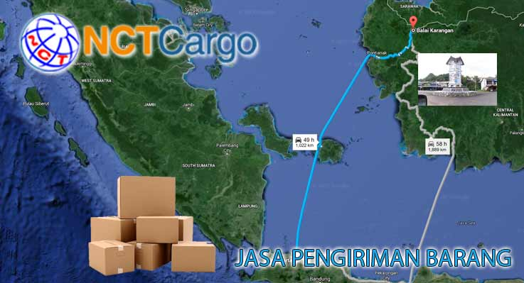 jasa pengiriman barang Jakarta Balai Karangan
