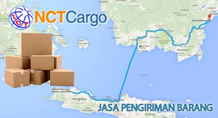 Jasa Pengiriman Barang Jakarta Balikpapan Kaltim