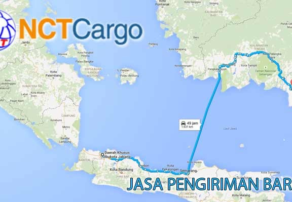 jasa pengiriman barang Jakarta Banjarbaru