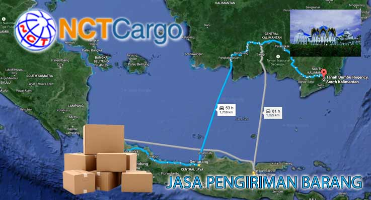 Jasa Pengiriman barang Jakarta Tanah Bumbu