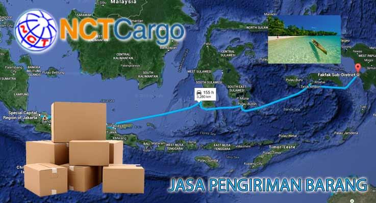 Jasa Pengiriman Barang Jakarta Fakfak