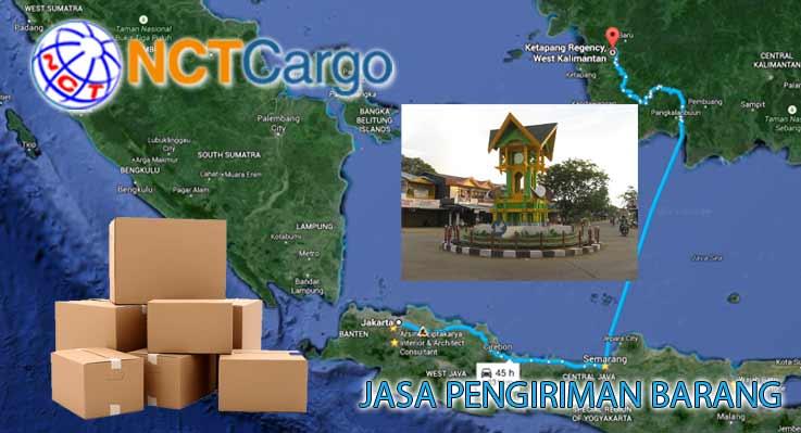Jasa Pengiriman Barang Jakarta Ketapang Kalimantan Barat