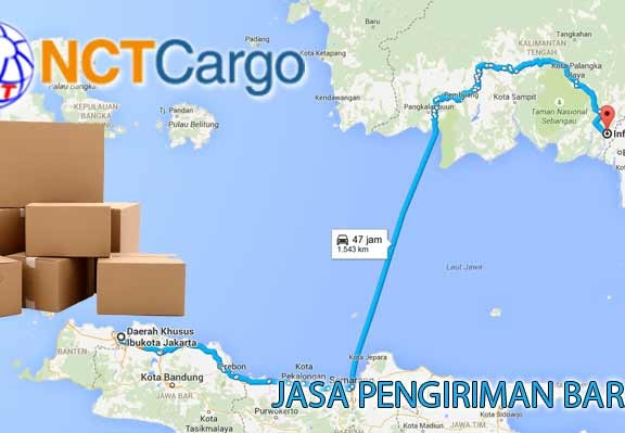 Jasa Pengiriman Barang Jakarta Kuala Kapuas
