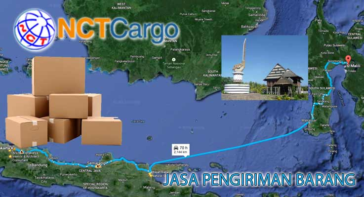 Jasa Pengiriman Barang Jakarta Malili Sulawesi Selatan