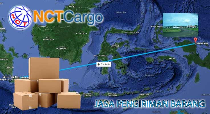 Jasa pengiriman barang Jakarta Manokwari