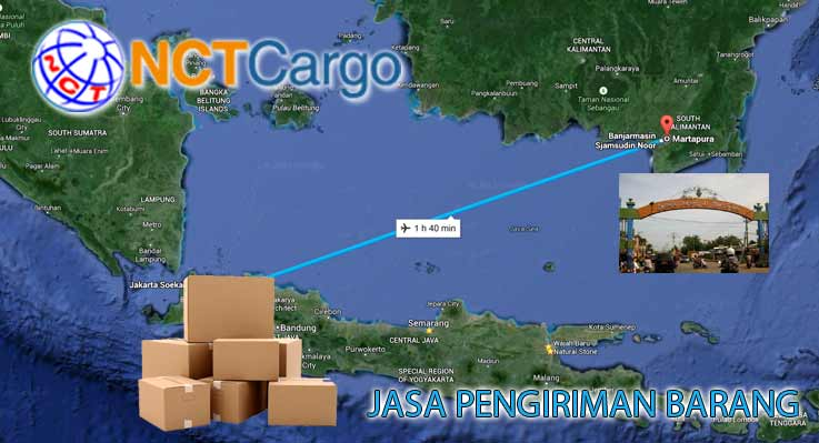 Jasa Pengiriman Barang Jakarta Martapura