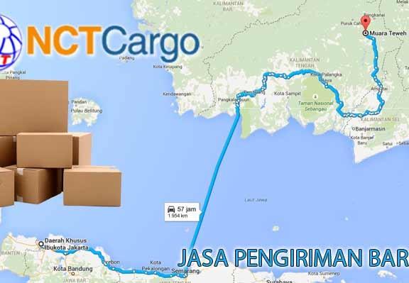 Jasa Pengiriman Barang Jakarta Muara Teweh