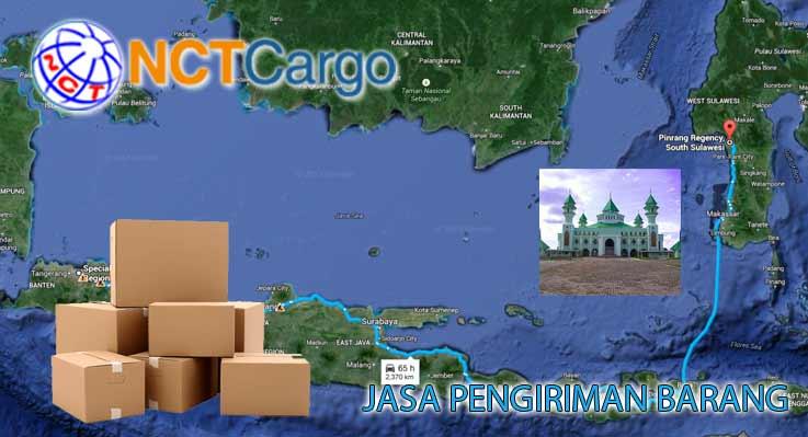 Jasa Pengiriman Barang Jakarta Pinrang