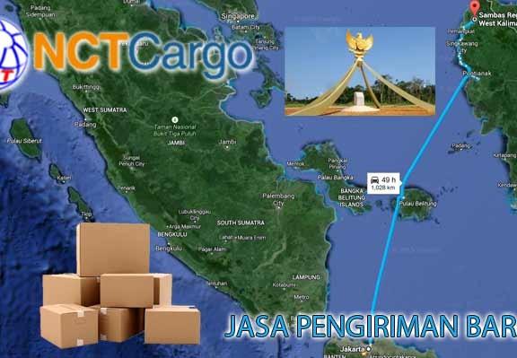 jasa pengiriman barang Jakarta Sambas