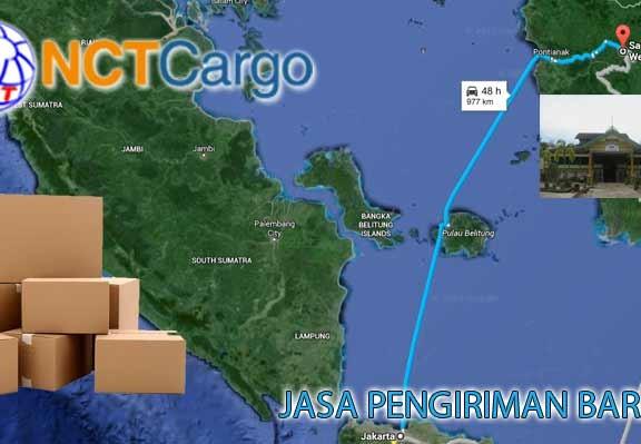 Jasa Pengiriman Barang Jakarta Sanggau