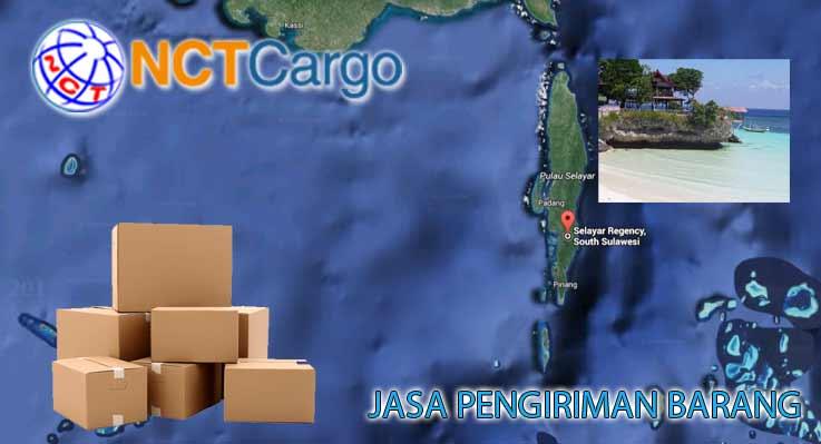 jasa pengiriman barang jakarta selayar