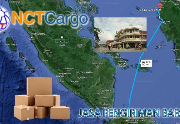 jasa pengiriman barang Jakarta Singkawang