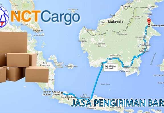 jasa pengiriman barang Jakarta Tanjung Redeb