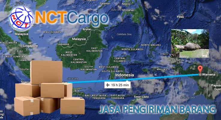 Jasa Pengiriman Barang Jakarta Wamena